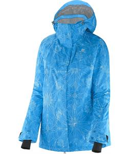 Salomon Zero Jacket Methyl Blue/Blue Line/White
