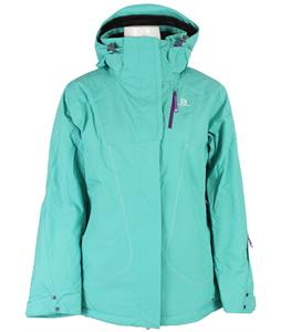 Salomon Zero Ski Jacket Cascade Green