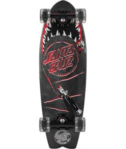 Santa Cruz Night Shark Light-Up Cruiser Complete
