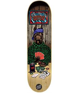 Santa Cruz Guzman Poker Dog Skateboard Deck