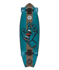 Santa Cruz Landshark Stained Hand Cruiser Complete