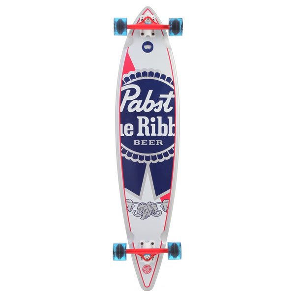 Santa Cruz PBC PBR Cold One Longboard Skateboard Complete
