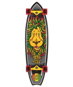 Santa Cruz Rasta Lion Big Shark Cruiser Complete