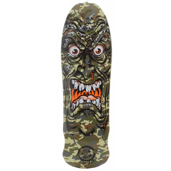 Santa Cruz Roskopp Face Camo Reissue Skateboard