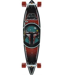 Santa Cruz Star Wars Boba Fett Pintail Cruzer Longboard Complete 43.5in x 9.9in