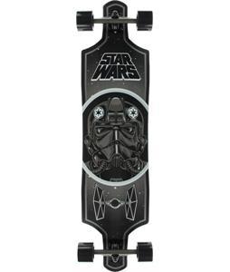 Santa Cruz Star Wars Tie Fighter Drop Thru Cruzer Longboard Complete 40in x 10in
