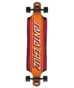 Santa Cruz Strip Inlay Drop Thru Longboard Complete