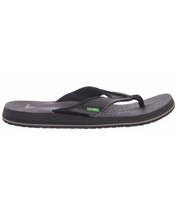 Sanuk Beer Cozy Sandals Black