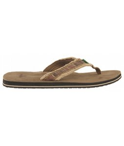 Sanuk Fraid So Sandals Red/Brown