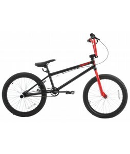 Sapient Capa Pro X BMX Bike Black Lightning/Burnt Red 20in