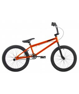 Sapient Capa Pro X BMX Bike Chrome Orange 20in