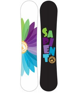 Sapient Color Wheel Snowboard 140