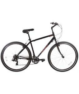 Sapient Cruise Bike Black/White/Red 21in