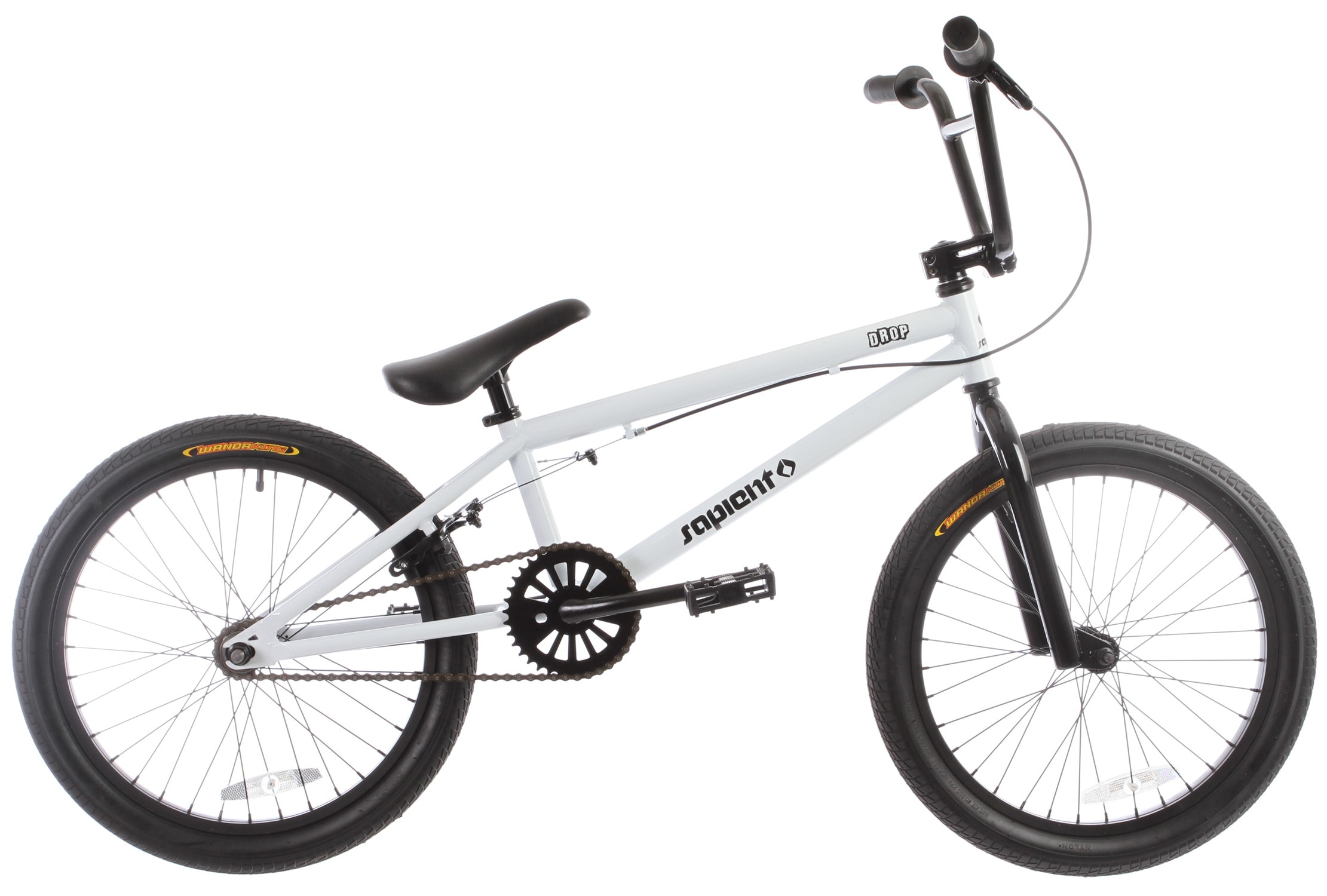 Drop Bmx Bike White 20in Sapient