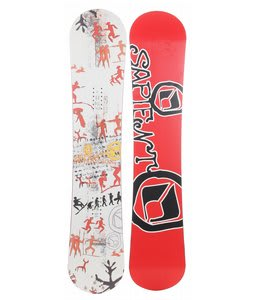 Sapient Evolution Snowboard White 143
