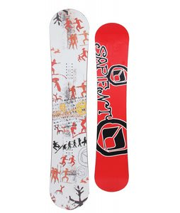 Sapient Evolution Snowboard Wide White 151