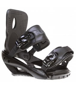 Sapient Fusion Snowboard Bindings Black
