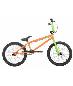 Sapient Perspica Pro BMX Bike Nuclear Orange/Gamma Green 20in