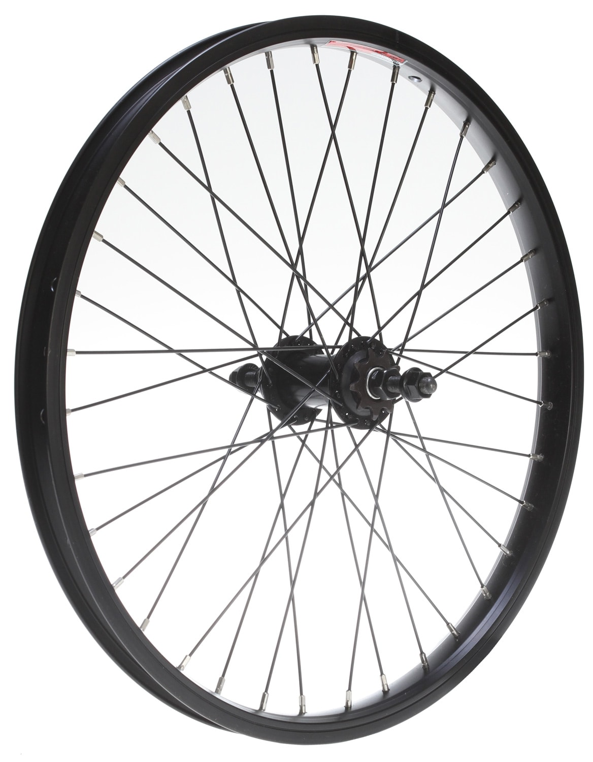 The Wheel Of Fortune As Advice: Sapient Rear Wheel With Bike Axle 3/8in