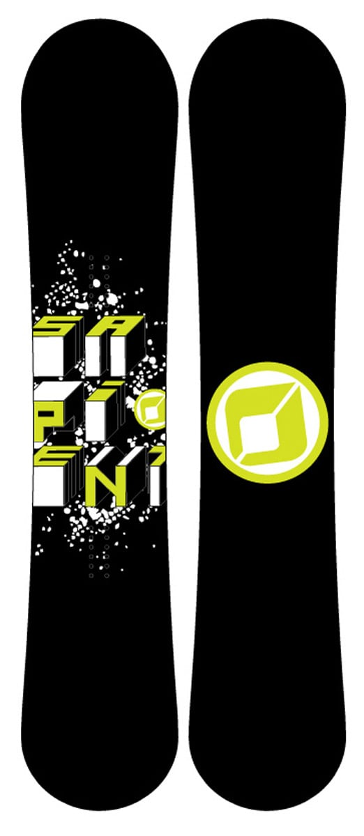 Sapient Stash Snowboard 160 Men's