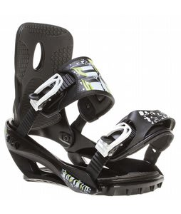 Sapient Stash Snowboard Bindings Black