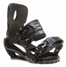 Sapient Stash Snowboard Bindings Black/Charcoal