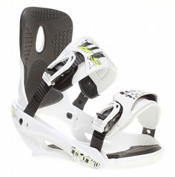 Sapient Stash Snowboard Bindings White