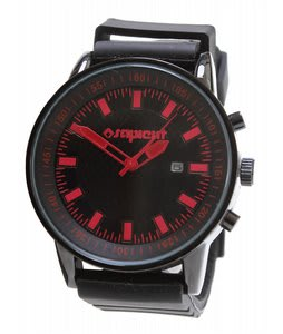Sapient Timecheck Watch Black/Red