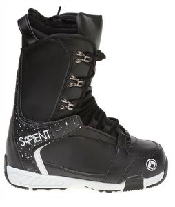 Sapient Yeti Snowboard Boots Black