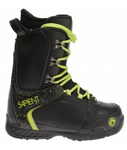 Sapient Yeti Snowboard Boots Black/Yellow