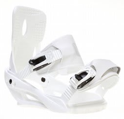 Sapient Zeus Snowboard Bindings White