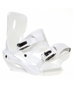 Sapient Zeta Snowboard Bindings White