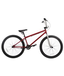 Sapient Titan BMX Bike Ruby Red/Silver 24in