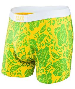 Saxx Fiesta Boxer Briefs Yellow Floral