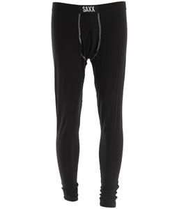 Saxx Ultra Long John Fly Base Layer Suit Black