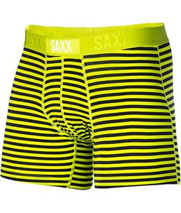 Saxx Vibe Modern Fit Boxer Briefs Lime Stripe
