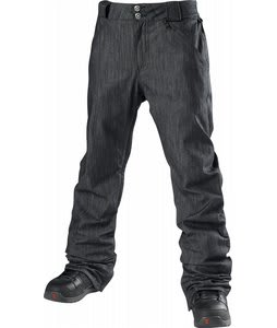Special Blend 5 Pocket Revolver Slim Snowboard Pants Denim