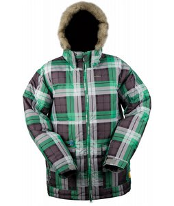 Special Blend Ninety-Five Snowboard Jacket Grey Thugby Plaid