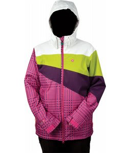 Special Blend Adorn Jacket Shocker Gingham 