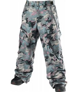 Special Blend Annex Snowboard Pants Burnt Greens Last Call Camo