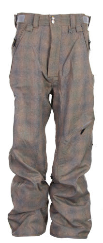 Special Blend Assure Snowboard Pants Rusty Plaid