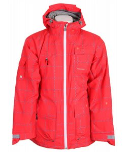 Special Blend Autograph Snowboard Jacket Red Rum Crossfire