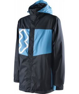 Special Blend Beacon Insulated Snowboard Jacket Blue Me/South Beach