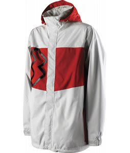 Special Blend Beacon Snowboard Jacket Barry White/Red Rum