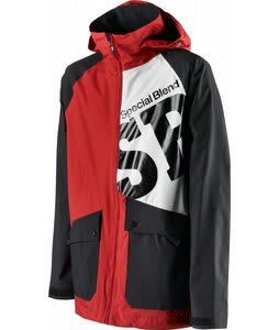 Special Blend Beacon Snowboard Jacket Markup Red 