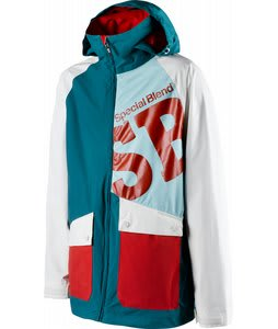 Special Blend Beacon Snowboard Jacket Teal Bag