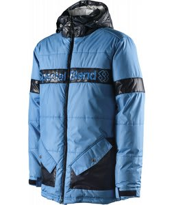Special Blend Bender Snowboard Jacket South Beach/Blue Me