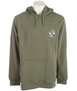 Special Blend Bombed Hoodie Militant Green