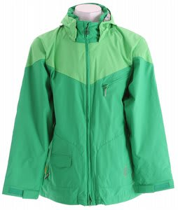 Special Blend Brigade Snowboard Jacket Crew Green