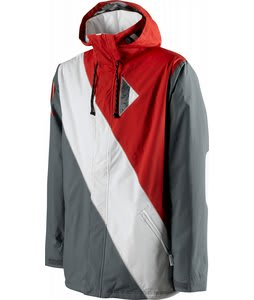 Special Blend Brigade Snowboard Jacket Markup Red 